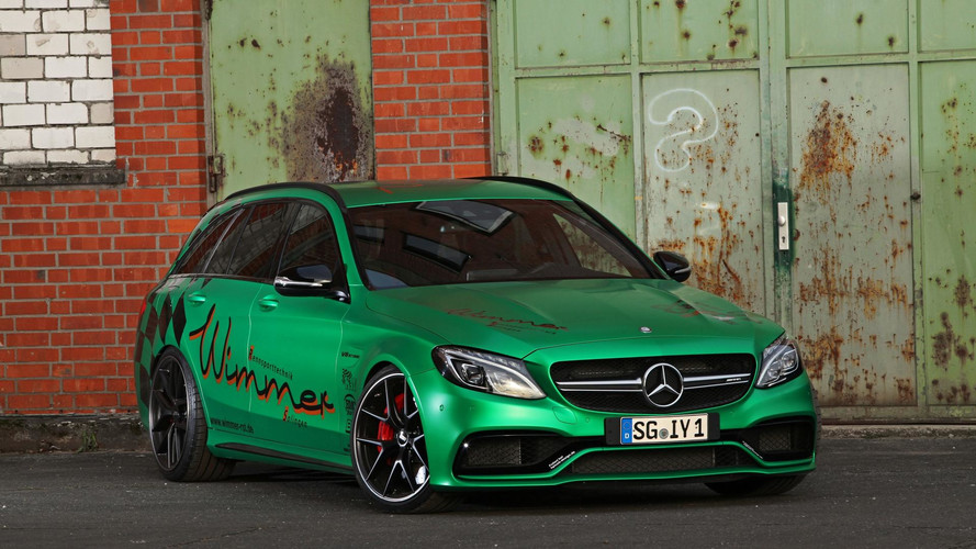 Mercedes-AMG C63 S Estate par Wimmer