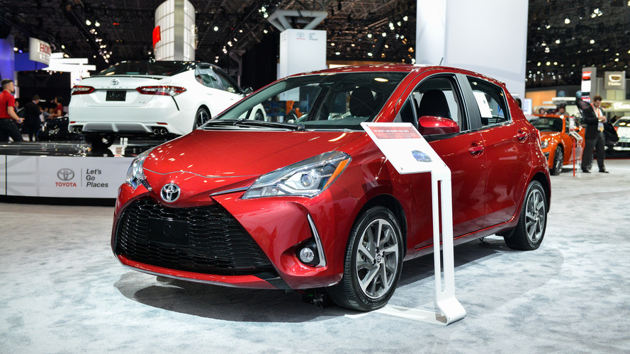 2017 Toyota Yaris facelift