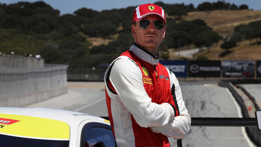 Actor Michael Fassbender Goes Racing In Ferrari Challenge Series