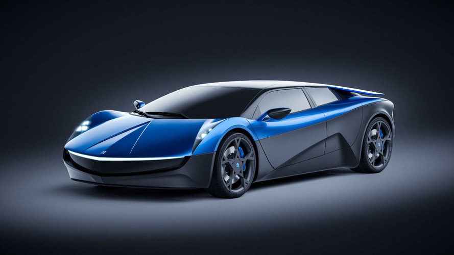 Elextra Electric 4-Door Supercar Reveals 373-Mile Range