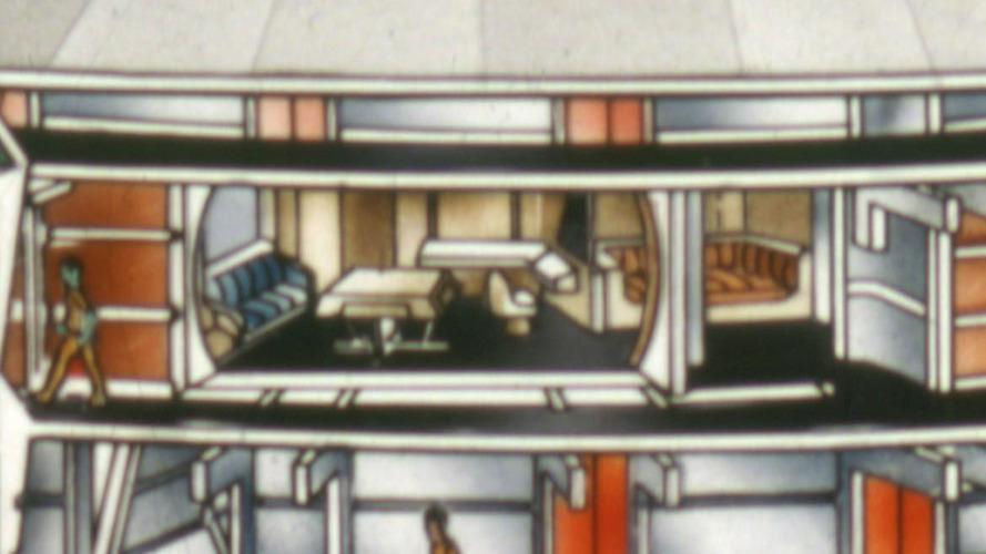 U.S.S. Enterprise captain's quarters