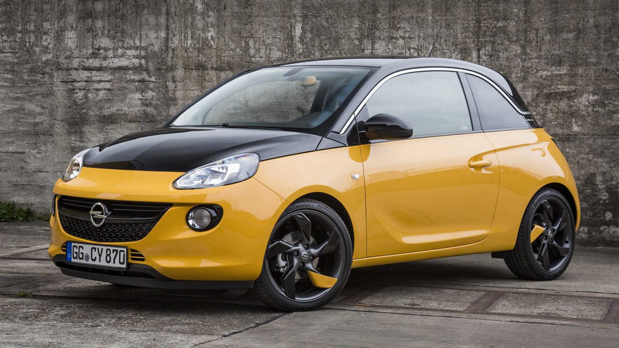 Opel Adam Black Jack Special Edition Is Half Yellow