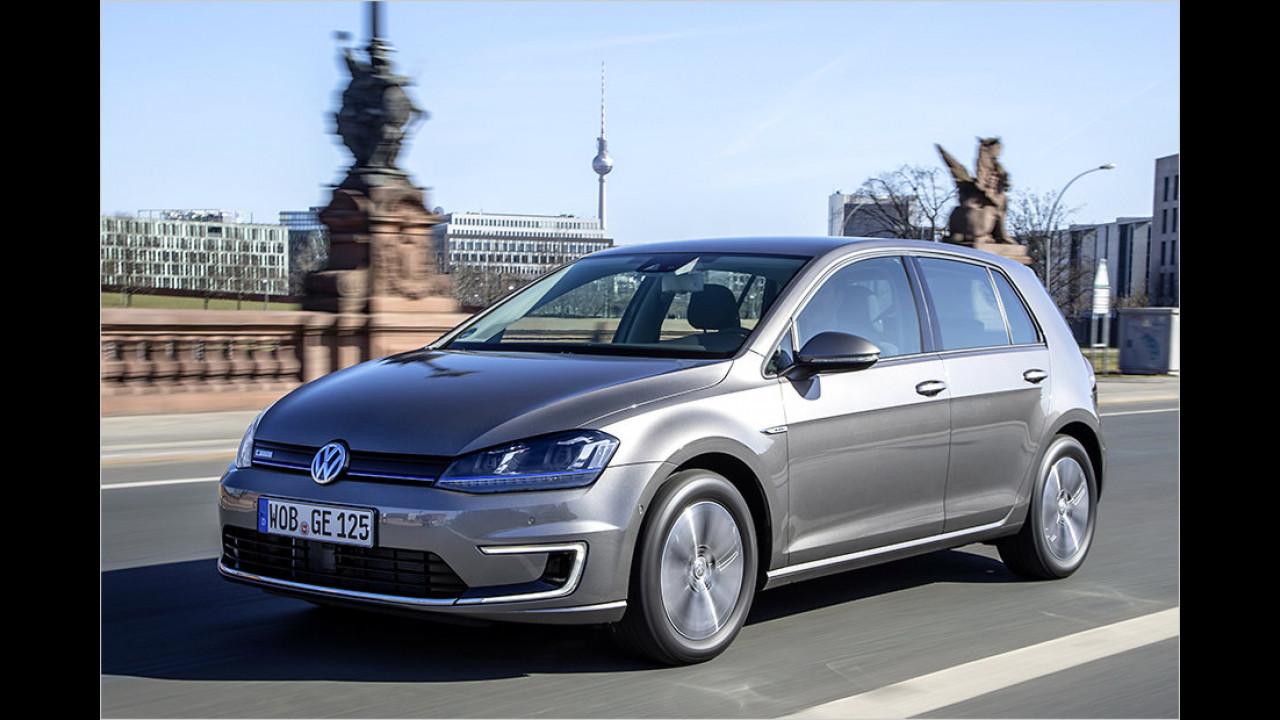 Platz 8: VW e-Golf