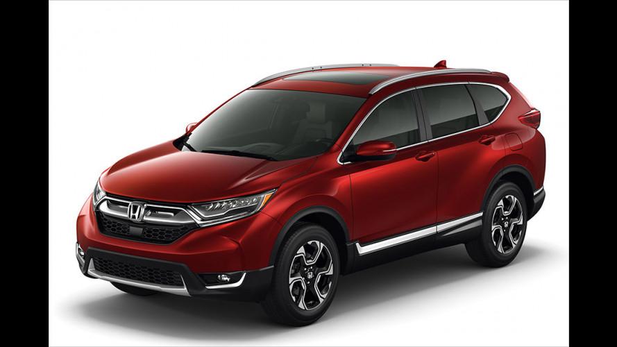 Das Civic-SUV: So kommt der neue Honda CR-V
