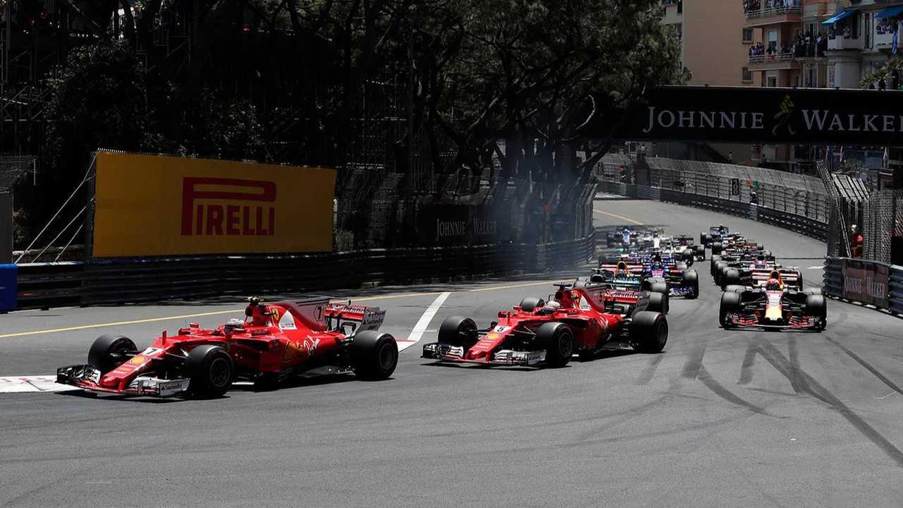 Raikkonen Vettel Monaco GP
