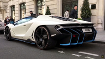 Lamborghini Centenario on the streets