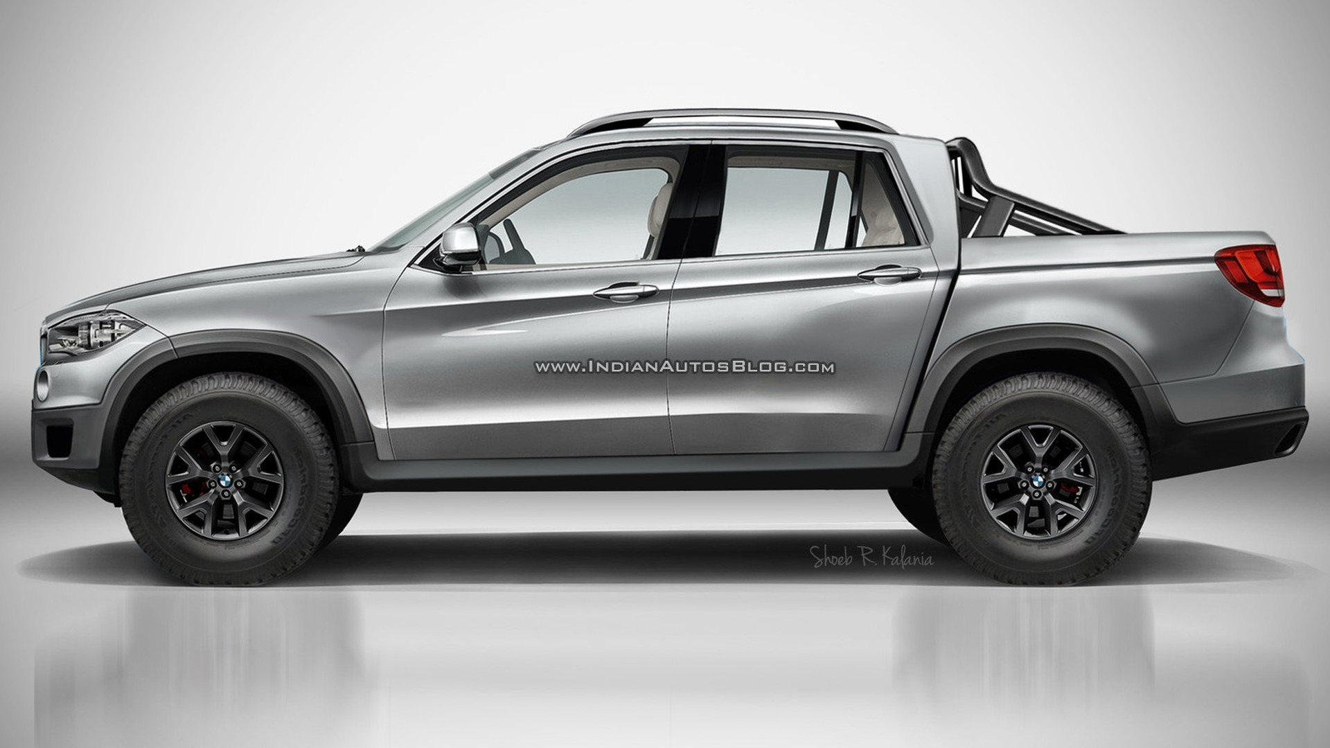 Bmw Pick Up Truck >> Bmw Pickup Rendered As The Ultimate Hauling Machine