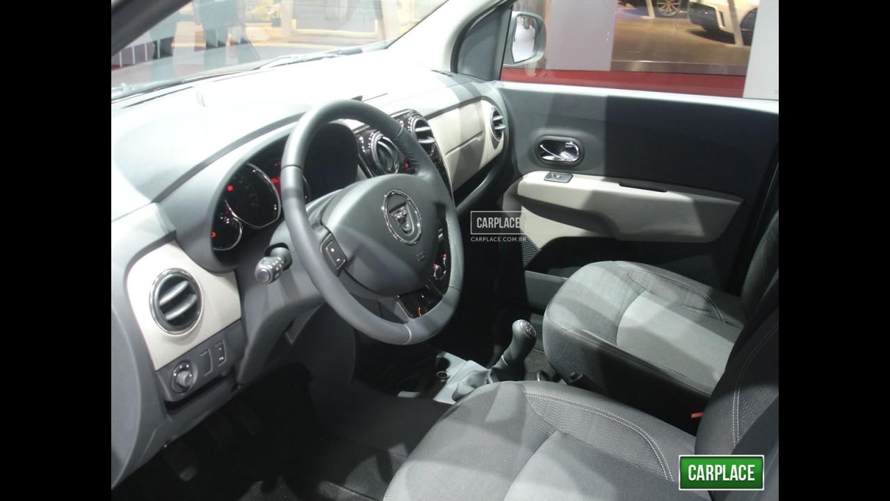 Salão de Genebra: Dacia Lodgy 2012 é apresentada oficialmente