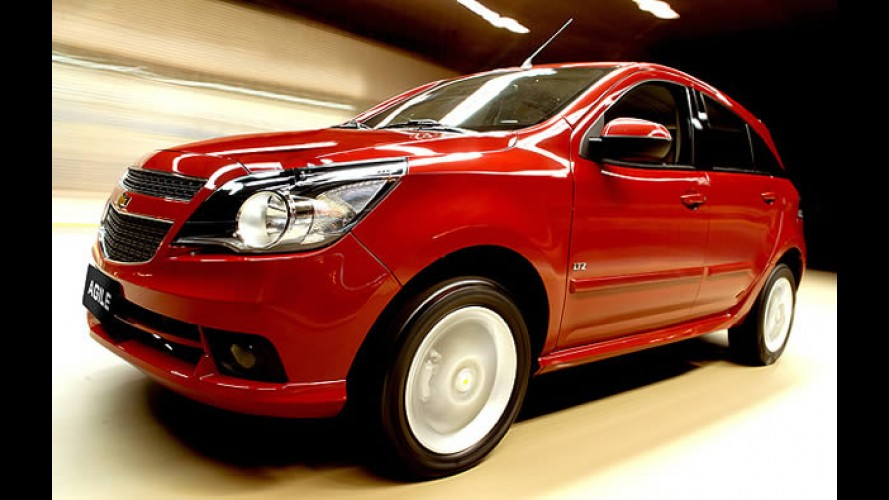 """Agile Easytronic: Versão LTZ """"automatizada"""" aparece no site da Chevrolet por R$ 55.888"""