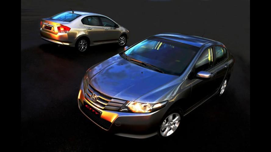 Honda City DX - Nova versão de entrada tem preço inicial de R$ 55.420