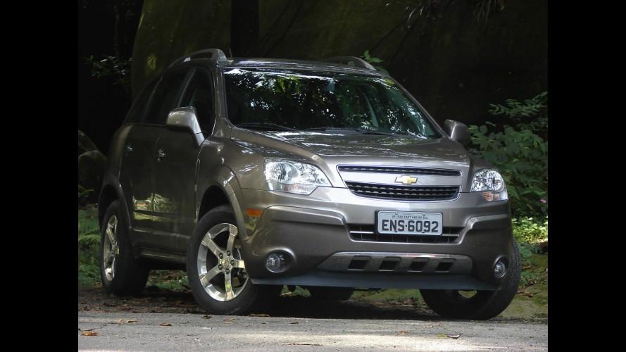 Chevrolet Captiva passa por recall também no Brasil