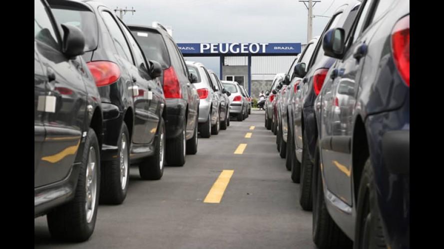 Brasil, abril: vendas recuam quase 5,5% em relação a março