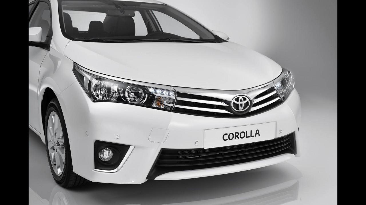 Exclusivo: novo Corolla nacional terá estilo do europeu e câmbio CVT