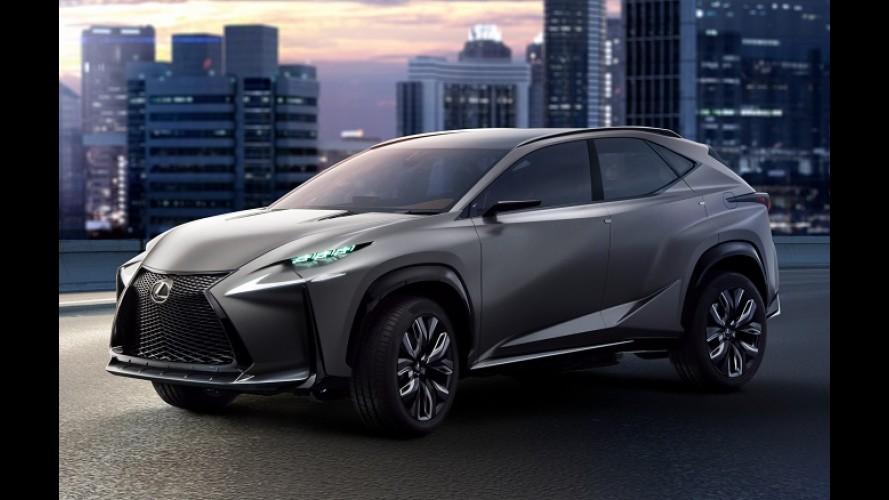 Anti-Evoque da Lexus, NX de produção será apresentado em abril na China