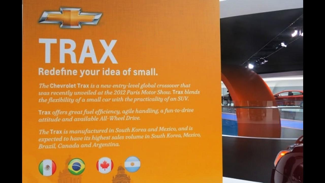 Novo Chevrolet Tracker/Trax é confirmado para o Brasil em Detroit