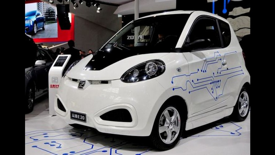 Zotye E20: urbaninho 100% elétrico pode ser vendido no Brasil