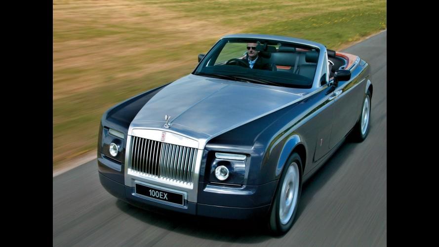 Rolls-Royce estuda lançar utilitário esportivo de luxo e roadster com motor V16