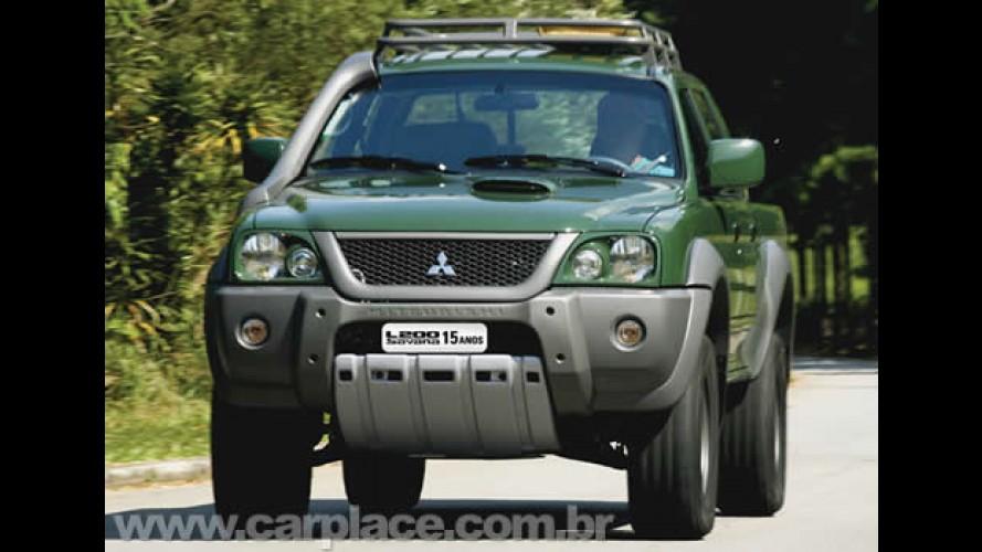 Off-Road: Mitsubishi Motorsports lança edição especial L200 Savana 15 anos