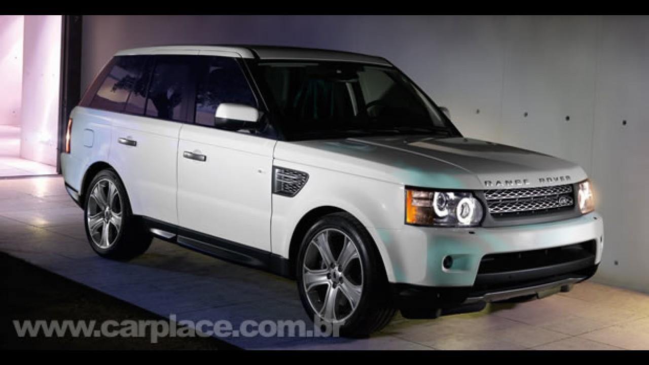 Land Rover revela oficialmente a linha Range Rover 2010 - Versão Sport tem motor V8 de 510cv