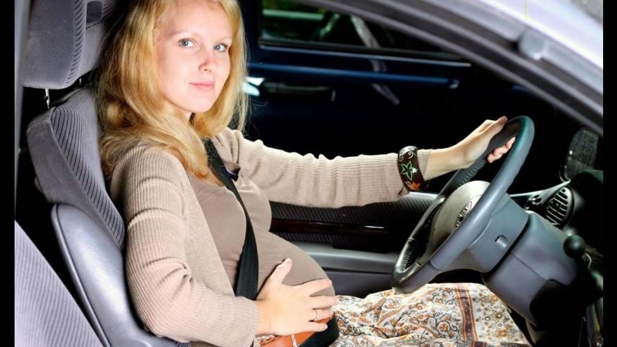 Grávidas têm 42% mais chances de bater o carro, diz estudo