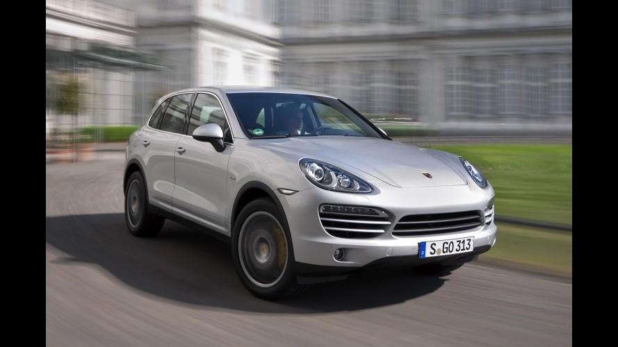 Recall mundial do Porsche Cayenne envolve 1.103 unidades no Brasil