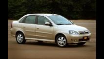 Astra, Corsa Sedan e Vectra já não estão mais disponíveis no site da Chevrolet