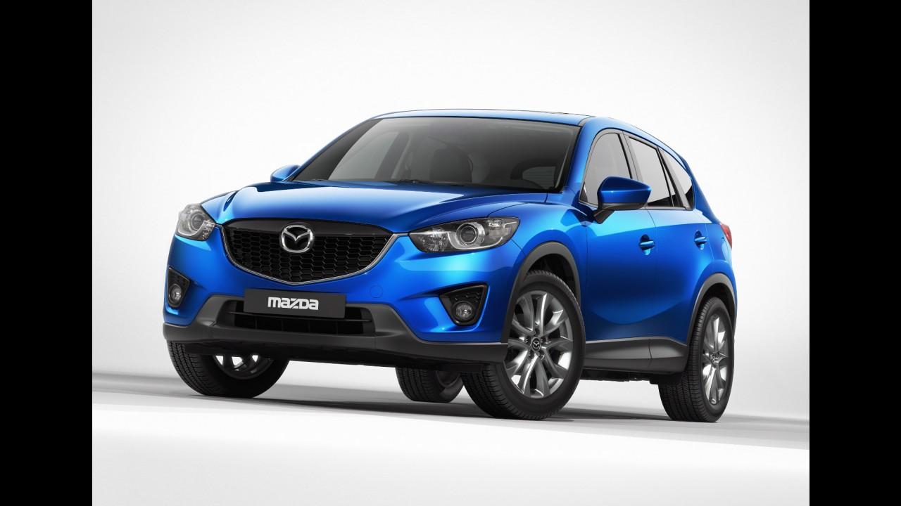 Mazda CX-5 ganha prêmio de Carro do Ano no Japão