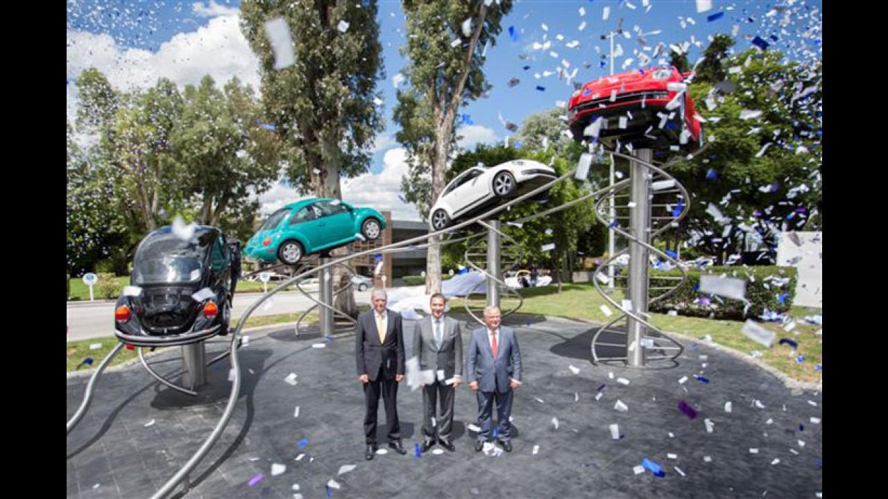 VW comemora 10 milhões de veículos produzidos no México