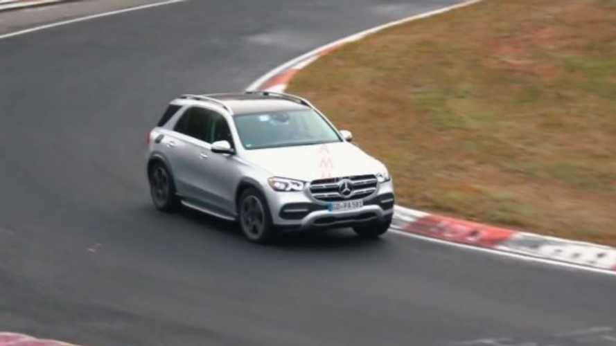 2020 Mercedes-Benz GLE PHEV Spied Lapping Nurburgring: Video