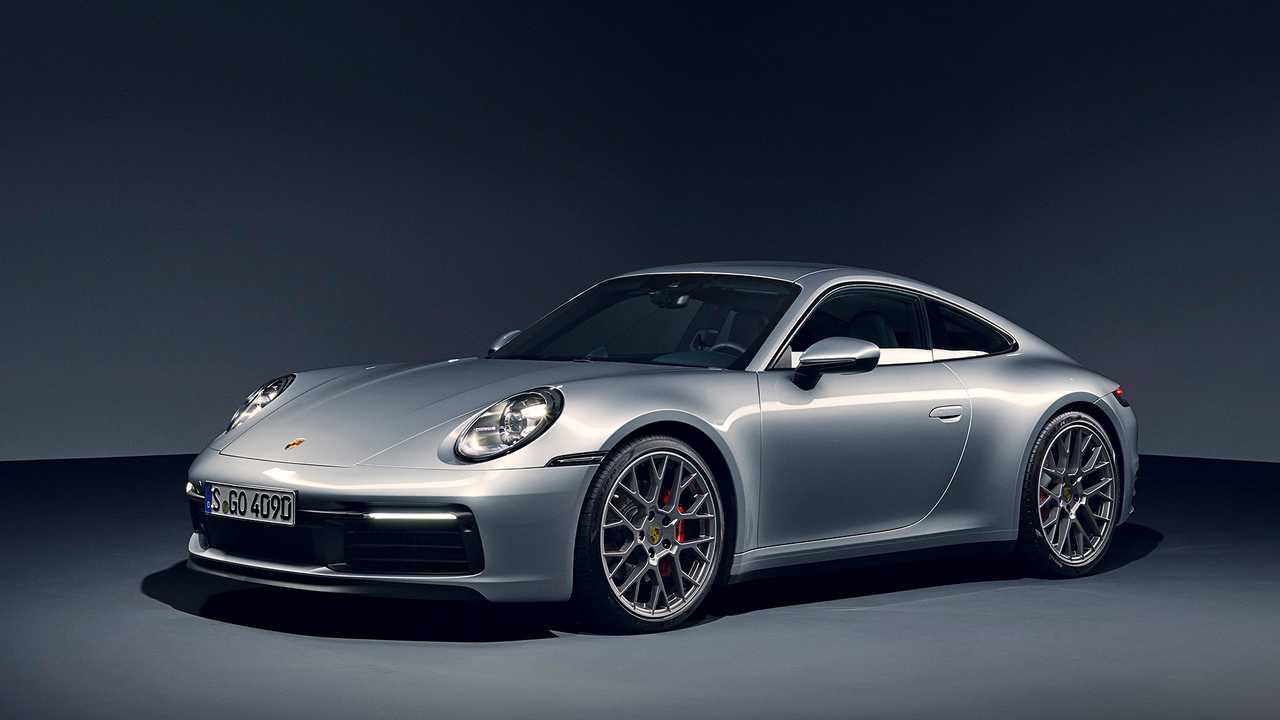 Porsche 911 Carrera S, Carrera 4S Finally Adds Manual
