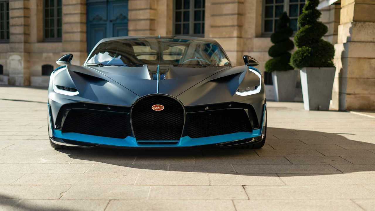 Bugatti Divo à Paris
