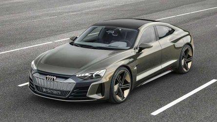 Audi e-tron GT concept - La Tesla Model S comme cible