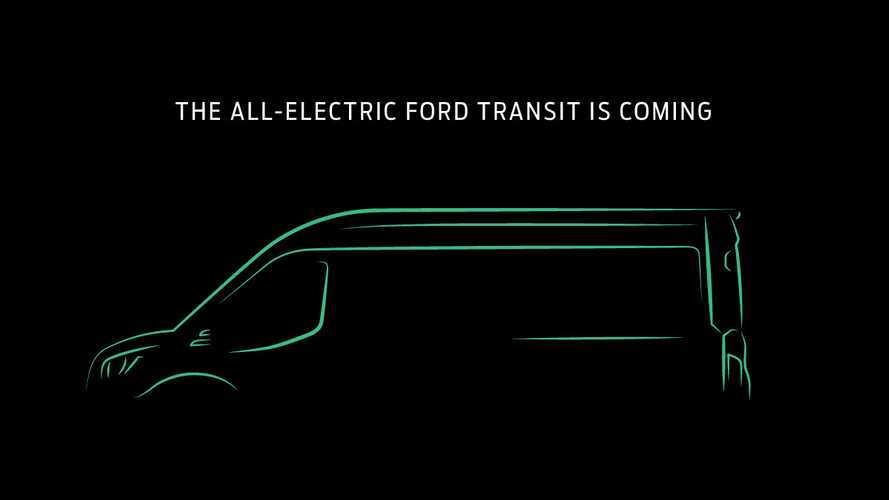 Ford Transit Electric Confirmed For U.S. And Canada