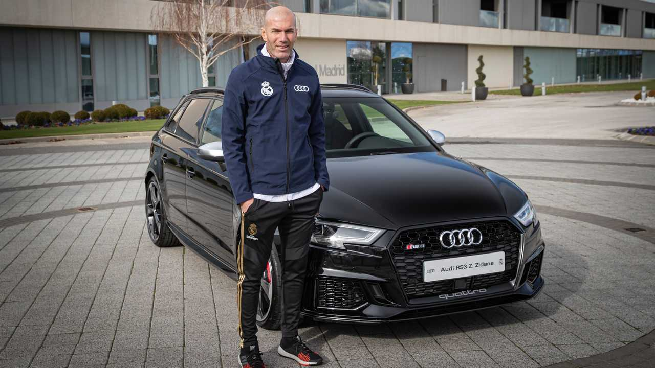 Zinédine Zidane - Audi RS 3