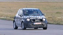 Fiat 500e prototype spy photos