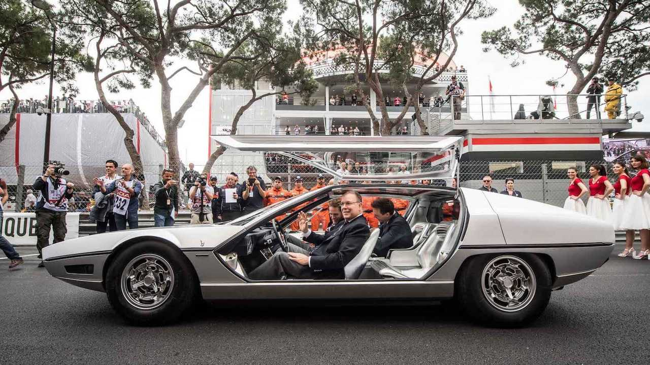 Lamborghini Marzal driven in public for first time since 1967