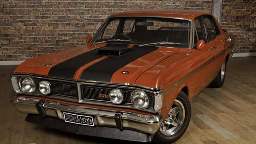 Ford Falcon Phase III sets new Australian auction record