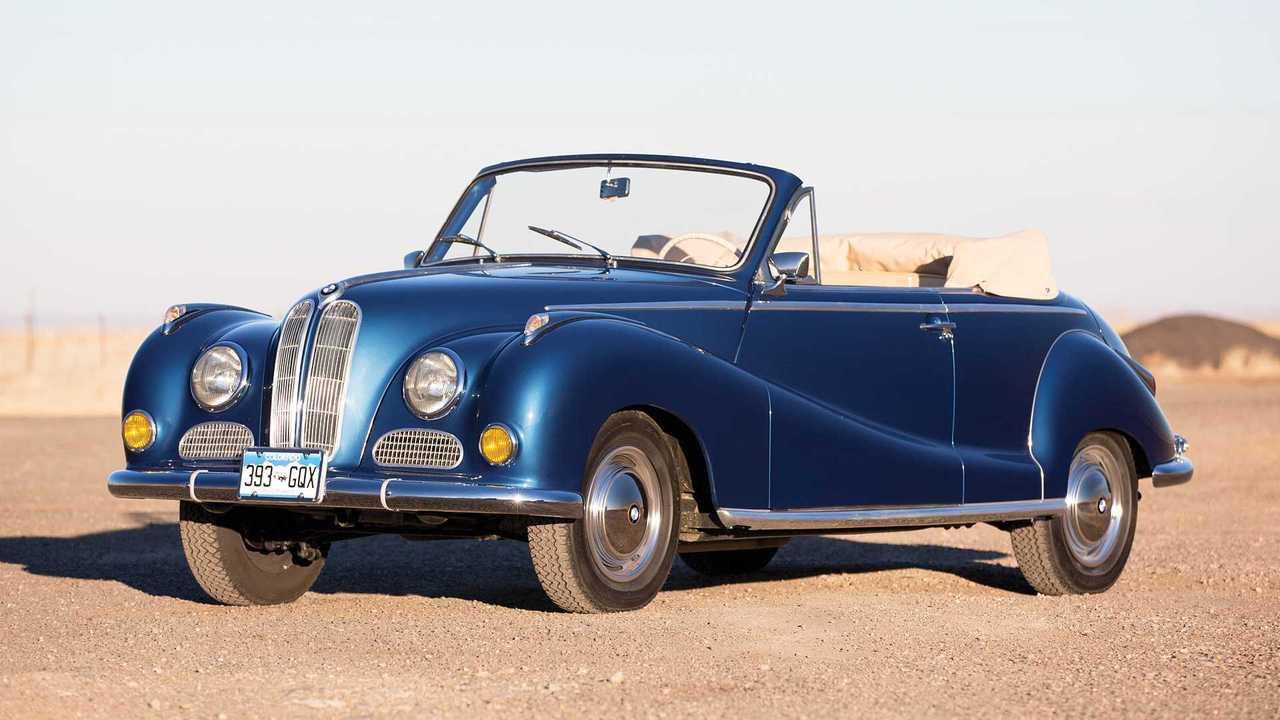 BMW 502 Cabriolet Baur (1956): 315.000 Euro