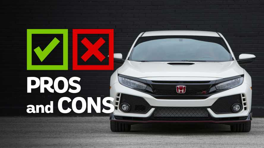 2019 Honda Civic Type R: Pros And Cons