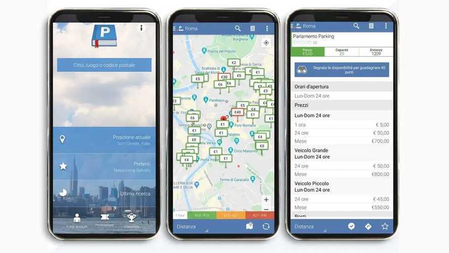 Parkopedia, l'app per trovare parcheggio