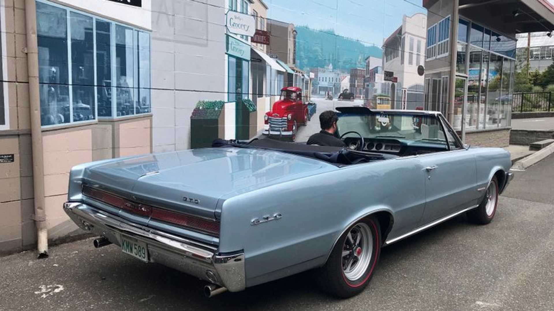 "[""1964 Pontiac GTO Convertible Is Priced To Sell""]"