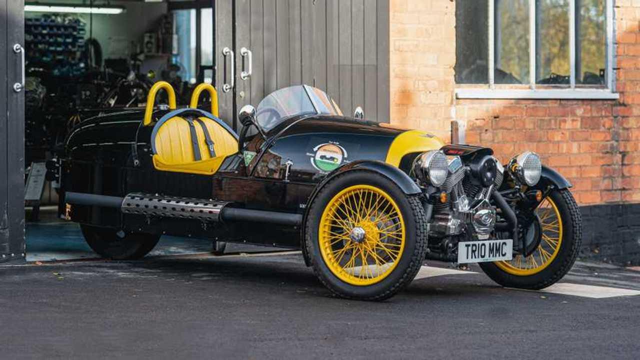 Morgan Three Wheeler set for epic charity drive - Motor1.com