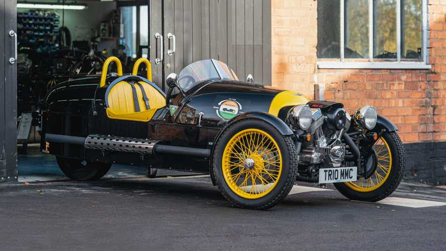 Morgan Three Wheeler set for epic charity drive