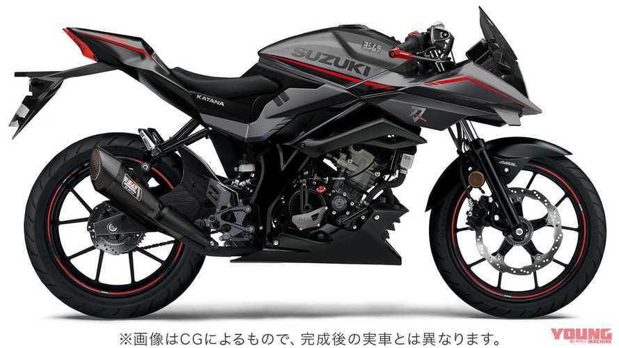 Suzuki Katana, dal Giappone una special da 125 cc