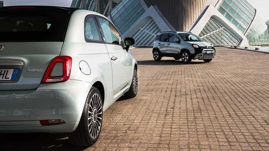 Fiat 500 e Panda ibride, mild hybrid da 10.900 euro