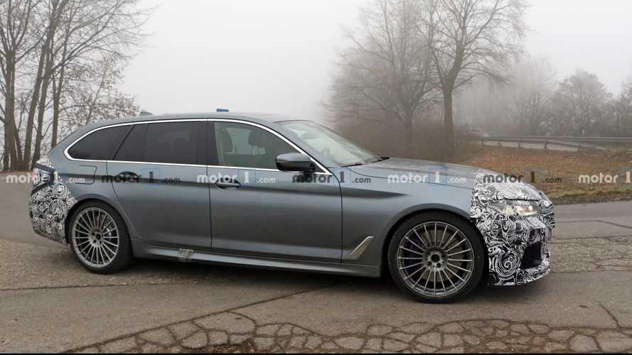 Alpina B5 Touring spied as world's fastest estate preps for facelift