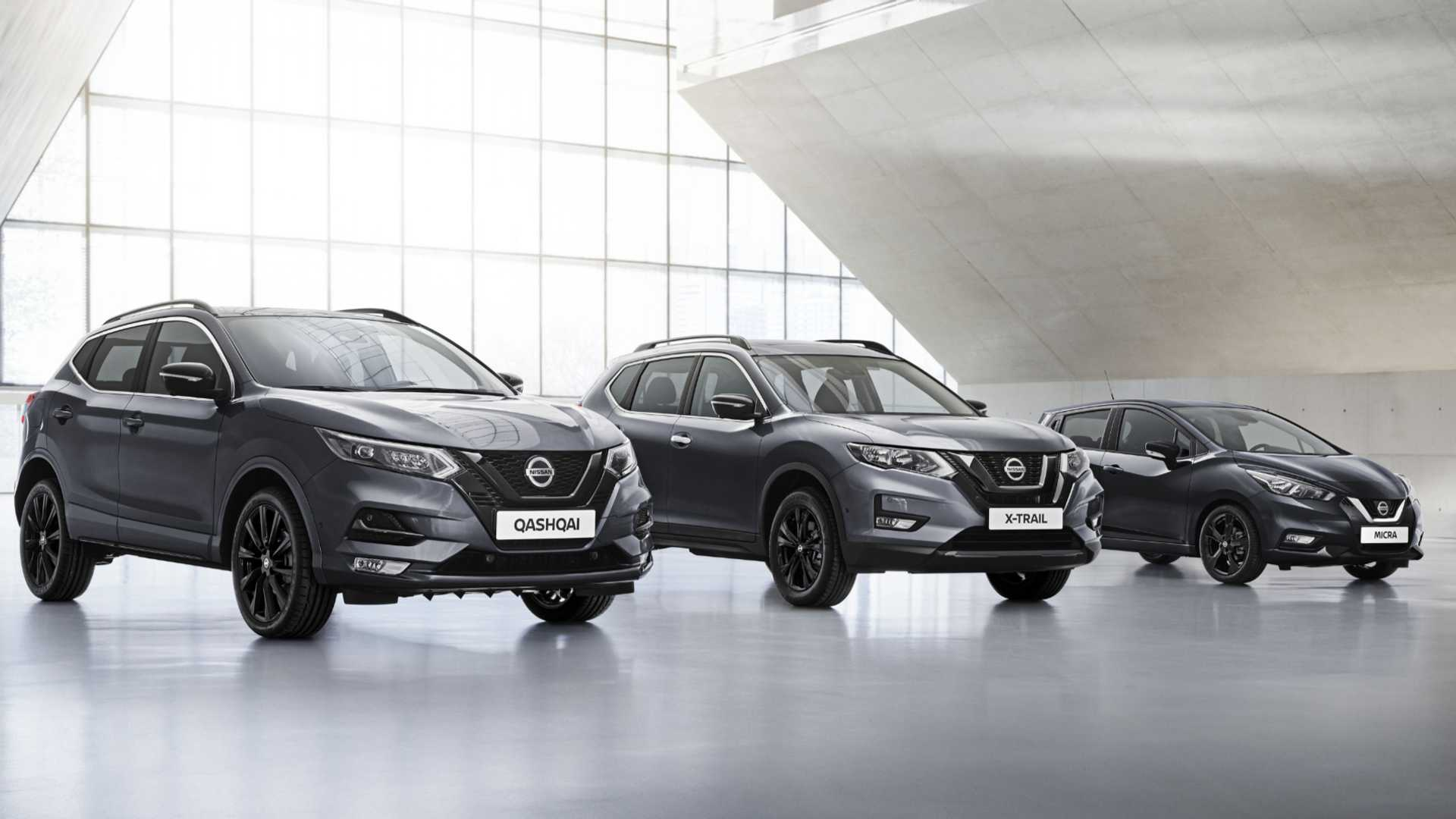 nissan uk reveals new techladen versions of qashqai x
