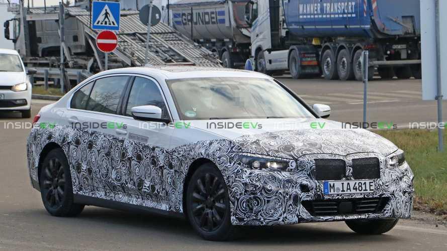 BMW 3 Serisi'nin elektrikli versiyonu görüntülendi