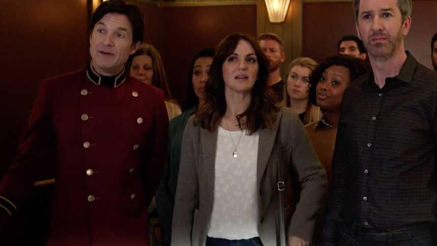 Jason Bateman As Elevator Man In Hyundai 2019 Super Bowl Ad