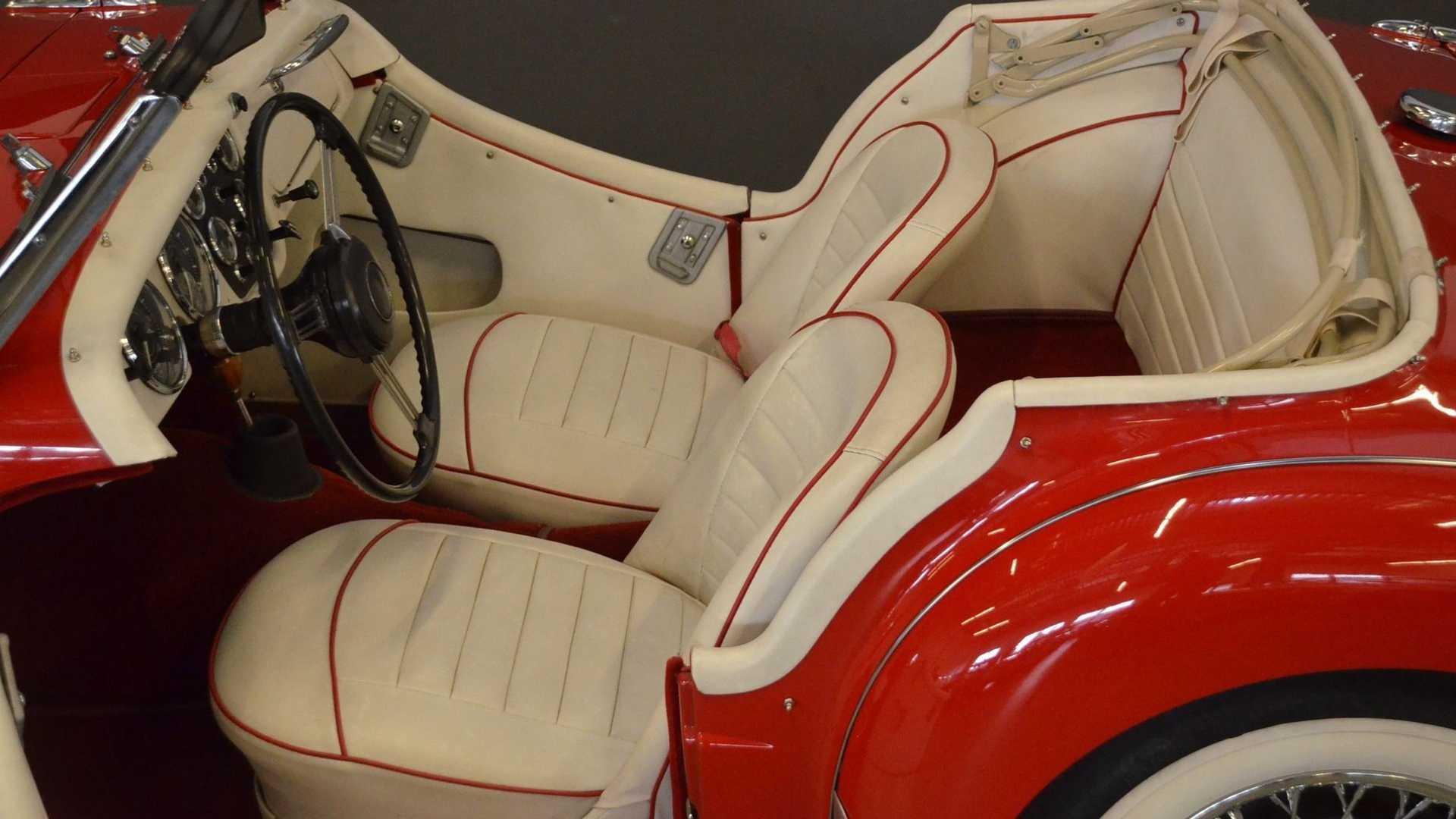 "[""Keep It Classy In A Rare, Restored 1962 Triumph TR3 B Roadster""]"